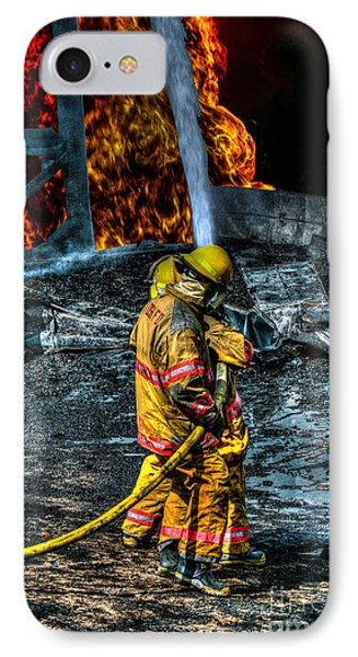 Keep Fire In Your Life No 8 Phone Case by Tommy Anderson