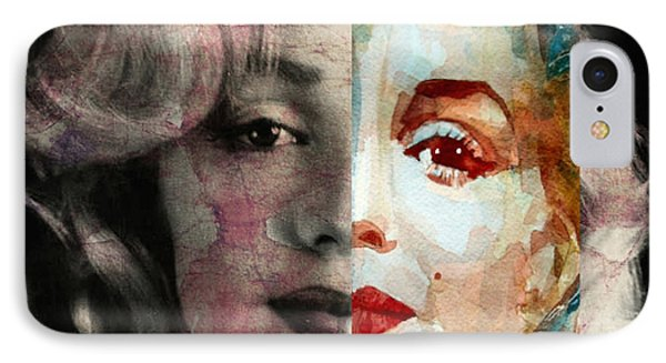 Keep Me Safe Lie With Me Stay Beside Me Don't Go IPhone Case by Paul Lovering