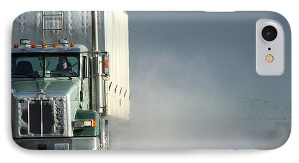 Keep On Truckin'... IPhone Case by Holly Ethan