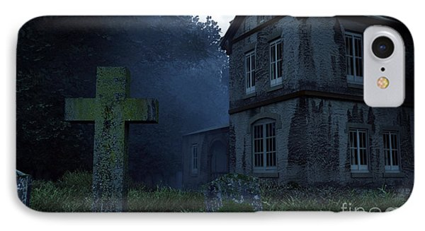 Keepers Of The Manor  IPhone Case by Richard Rizzo