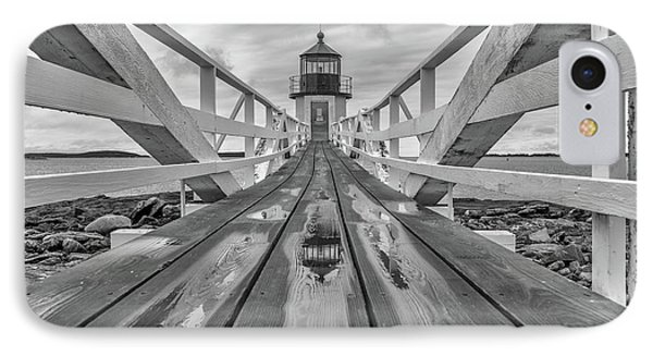 Keeper's Walkway At Marshall Point IPhone Case by Rick Berk