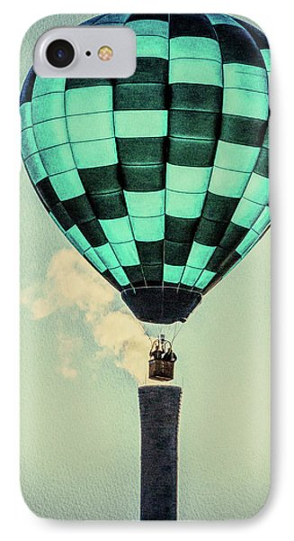 Keeping Warm As You Float Phone Case by Bob Orsillo