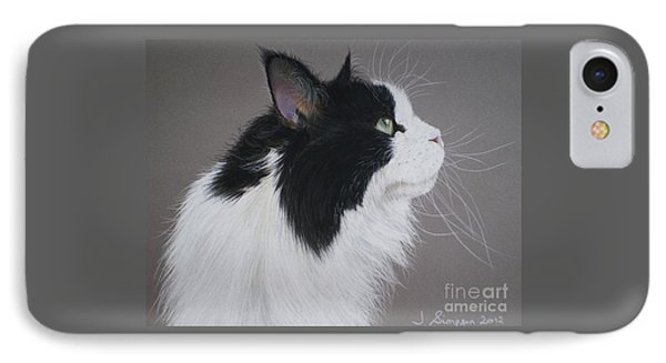 Keeps - Maine Coon Phone Case by Joanne Simpson