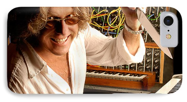 Keith Emerson By Gene Martin IPhone Case