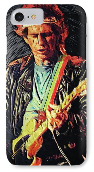 Keith Richards IPhone 7 Case