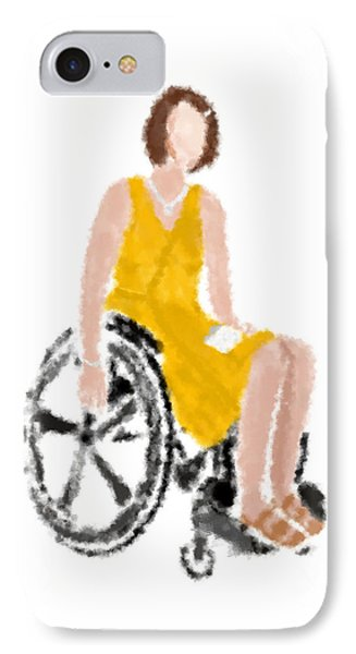 IPhone Case featuring the digital art Kelly by Nancy Levan