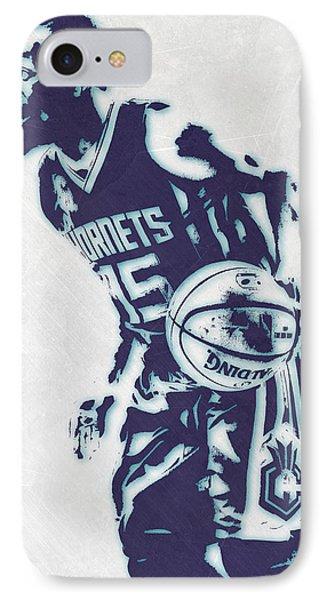 Kemba Walker Charlotte Hornets Pixel Art 3 IPhone Case