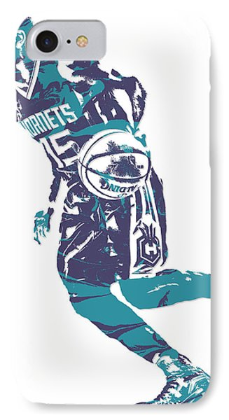 Kemba Walker Charlotte Hornets Pixel Art 7 IPhone Case