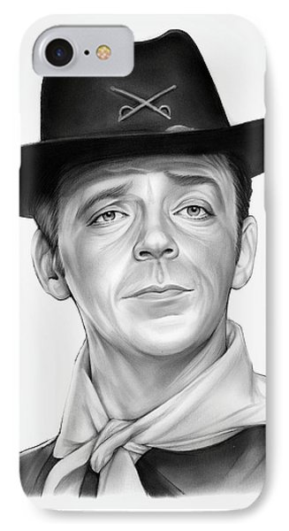 Ken Berry IPhone Case by Greg Joens