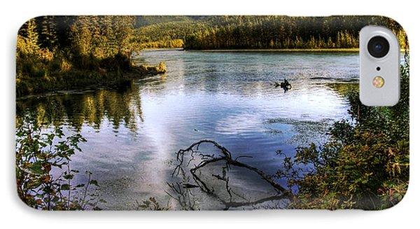 Kenai River In Fall IPhone Case by Michele Cornelius