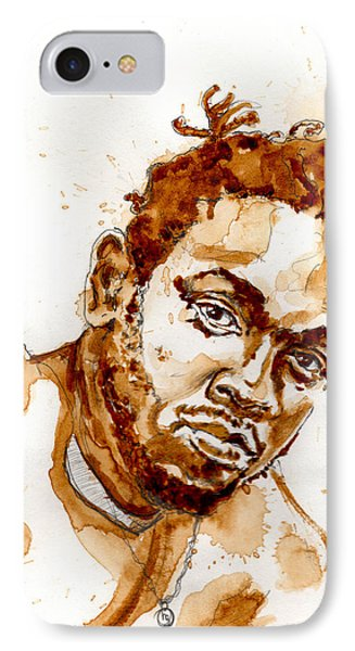 Kendrick IPhone Case by Howard Barry
