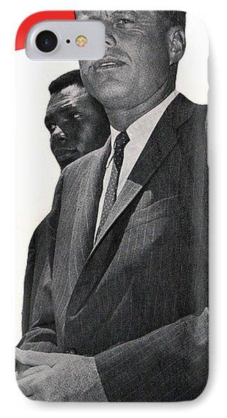 Whitehouse iPhone 7 Case - Kenndy For President by Jon Neidert