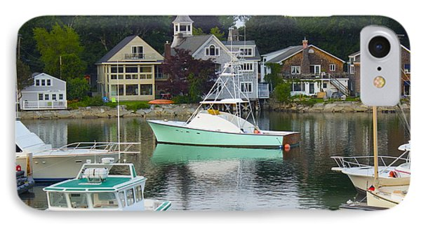 Kennebunkport Harbor IPhone Case by Alice Mainville