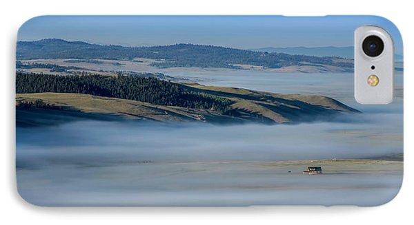 Kenosha Pass Clouds IPhone Case by Kristal Kraft