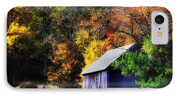 Kent Hollow II - New England Rustic Barn IPhone Case by Thomas Schoeller
