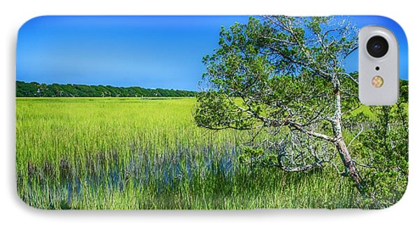 Kent Mitchell Nature Trail, Bald Head Island IPhone Case