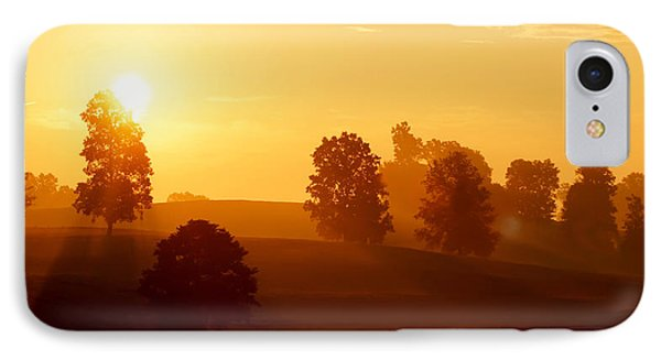 Kentucky Morning Phone Case by Keith Bridgman