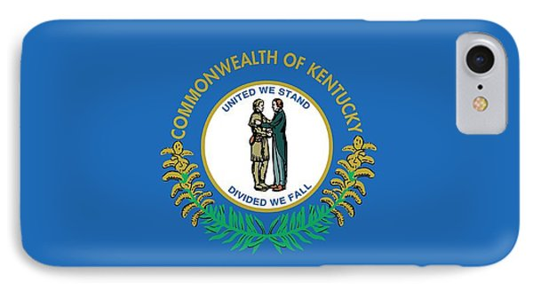 Kentucky State Flag IPhone Case by American School