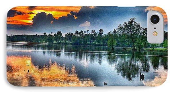 Kentucky Sunset June 2016 IPhone Case by Sumoflam Photography