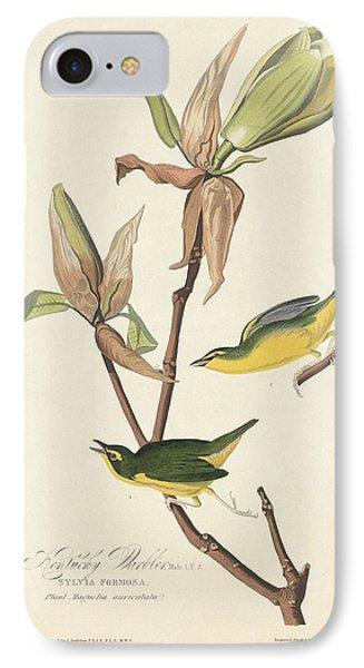 Kentucky Warbler IPhone Case by Anton Oreshkin
