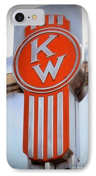 Kenworth Insignia IPhone Case by Karyn Robinson