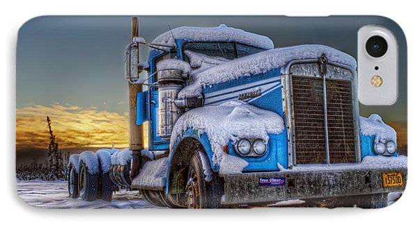 Kenworth Waiting For Summer Phone Case by Thomas Payer
