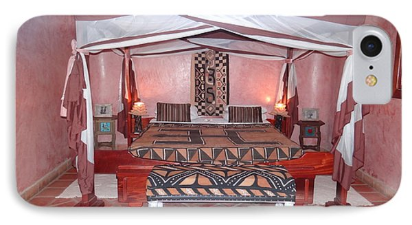 Kenyan African Traditional Double Bed IPhone Case