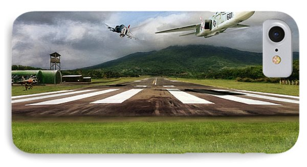 Kep Field Air Show IPhone Case by Peter Chilelli