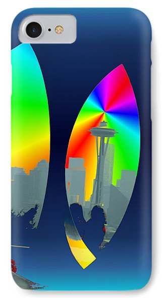 Kerry Needle 3 Phone Case by Tim Allen