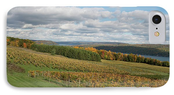 IPhone Case featuring the photograph Keuka In Autumn by Joshua House