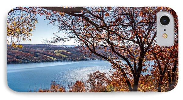 Keuka Lake Vista IPhone Case by William Norton