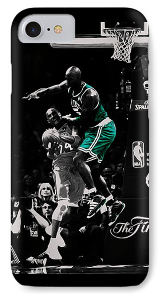 Kevin Garnett Not In Here IPhone 7 Case by Brian Reaves