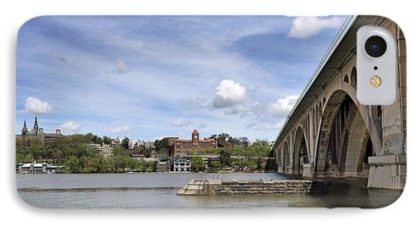 Key Bridge Into Georgetown IPhone 7 Case by Brendan Reals