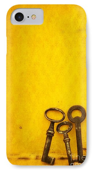 Key Family IPhone Case by Priska Wettstein