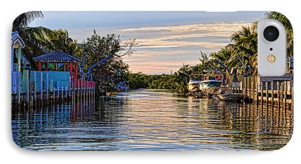 Key Largo Canal IPhone Case