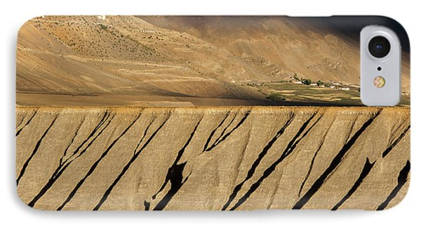 IPhone Case featuring the photograph Key Monastery And Spiti Valley, Spiti, 2008 by Hitendra SINKAR