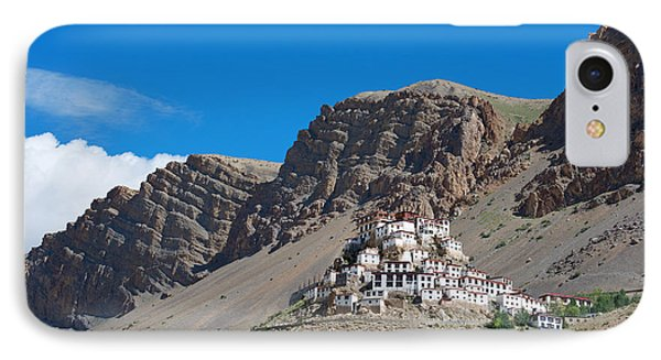 IPhone Case featuring the photograph Key Monastery by Yew Kwang