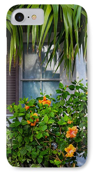 Key West Garden IPhone Case