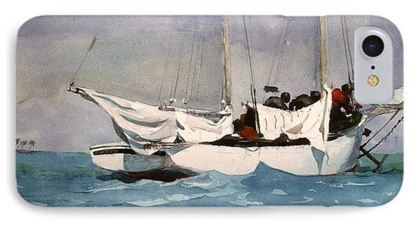 Key West Hauling Phone Case by Winslow Homer
