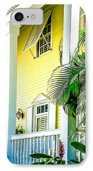 IPhone Case featuring the photograph Key West Homes 15 by Julie Palencia