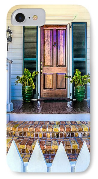 IPhone Case featuring the photograph Key West Homes 16 by Julie Palencia