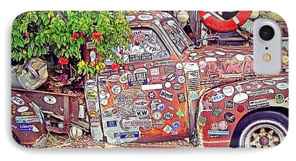 Key West Junk Truck II IPhone Case by Chris Andruskiewicz