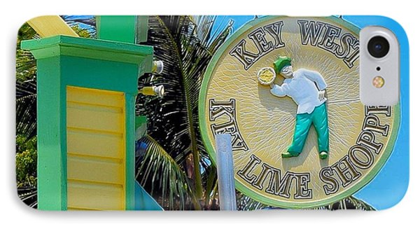 Key West Key Lime Shoppe IPhone Case