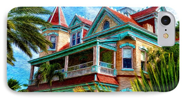 Key West Southern Most Hotel Phone Case by Bill Cannon