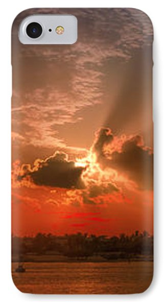 Key West Sunset Panoramic IPhone Case