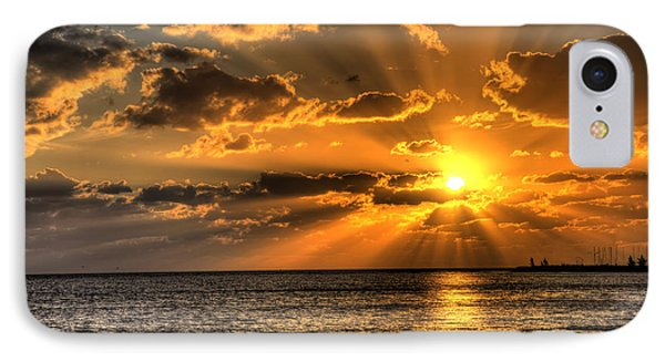 Key West Sunset IPhone Case by Shawn Everhart