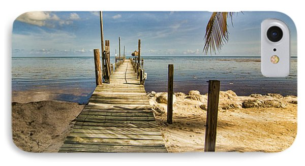 Keys Dock IPhone Case by Don Durfee
