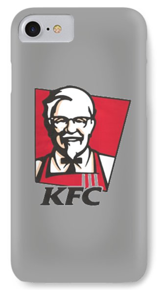 Kfc T-shirt IPhone Case by Herb Strobino