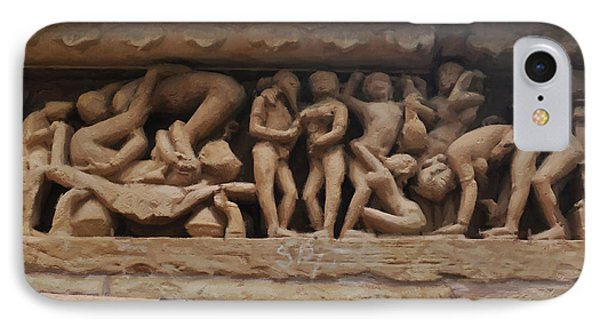 Khajuraho Temples-1 IPhone Case