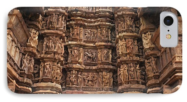 Khajuraho Temples 2 IPhone Case
